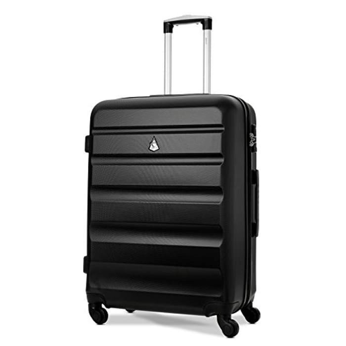 "Aerolite Medium 25"" Lightweight ABS Hard Shell Travel Hold"