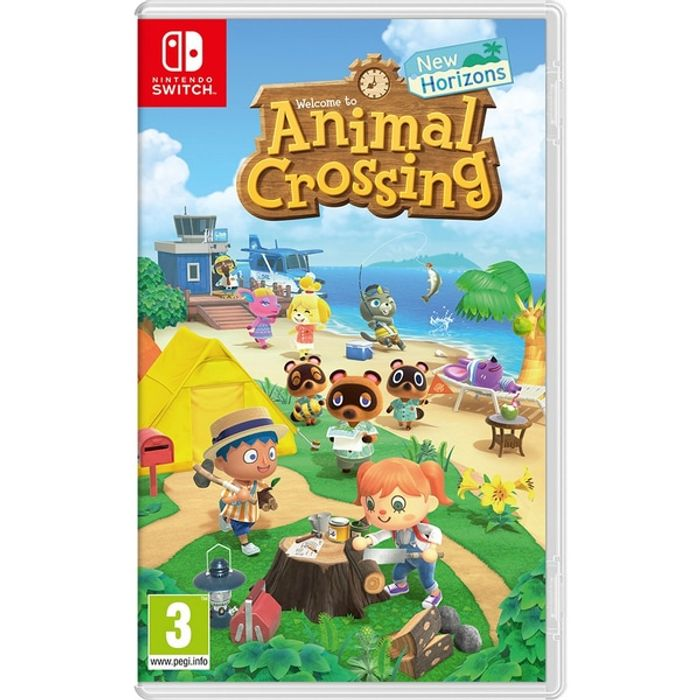 Animal Crossing New Horizons Switch Game in STOCK £44.99 Delivered