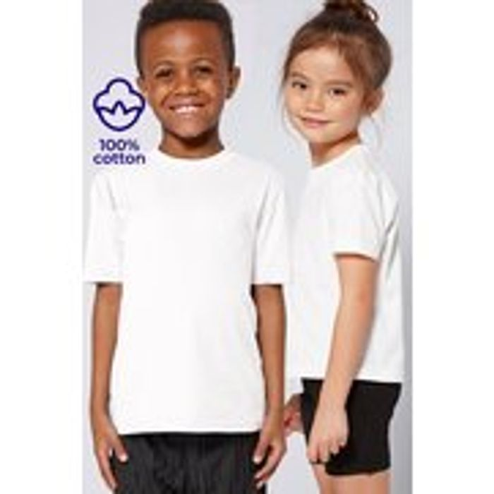 Unisex Pack of 2 Crew Neck T-Shirts
