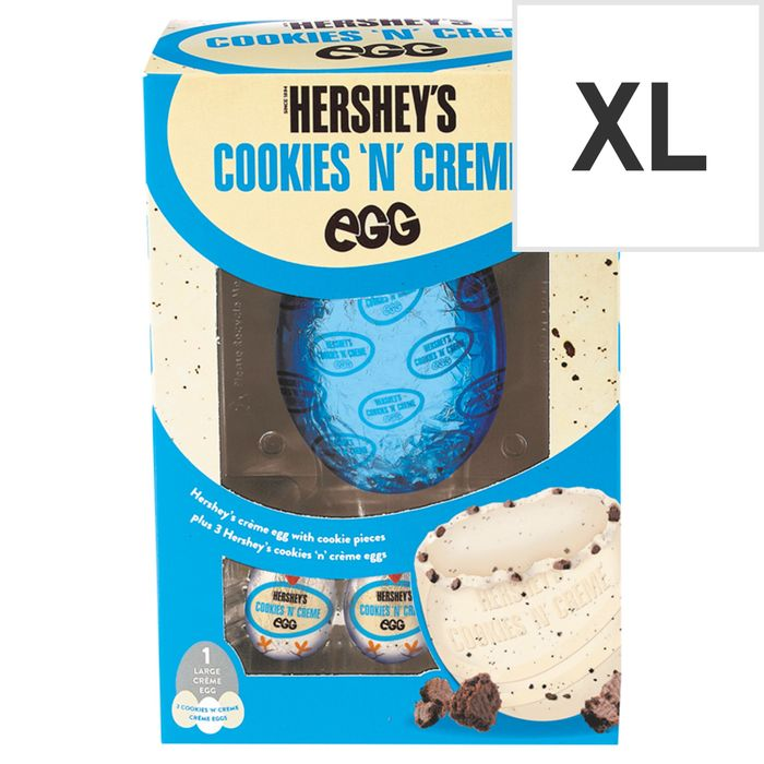 Hersheys Cookies & Creme Egg with 3 Creme Eggs 257G 2 for £7