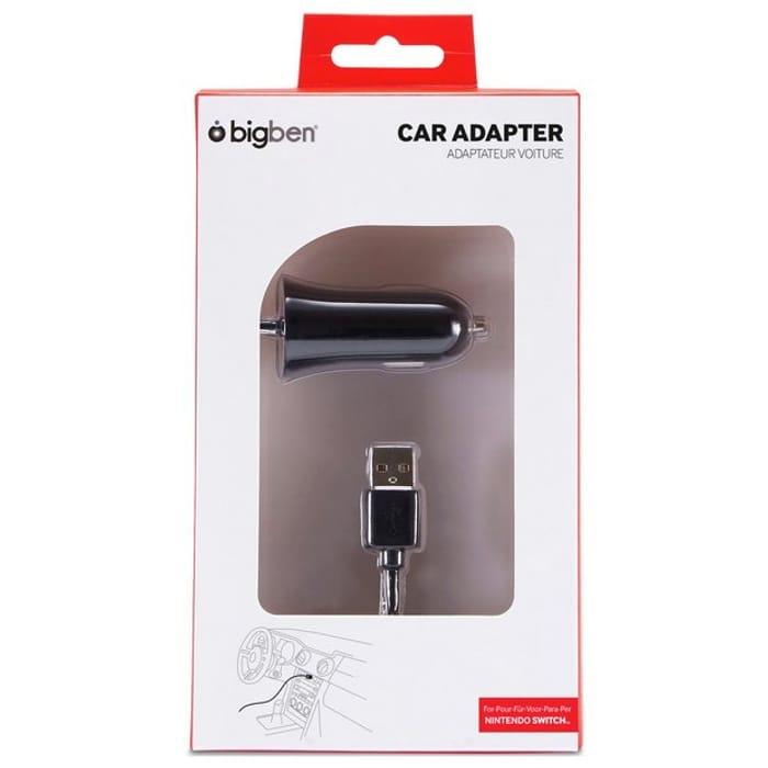 Nintendo Switch Car Charging Adaptor - Save £5