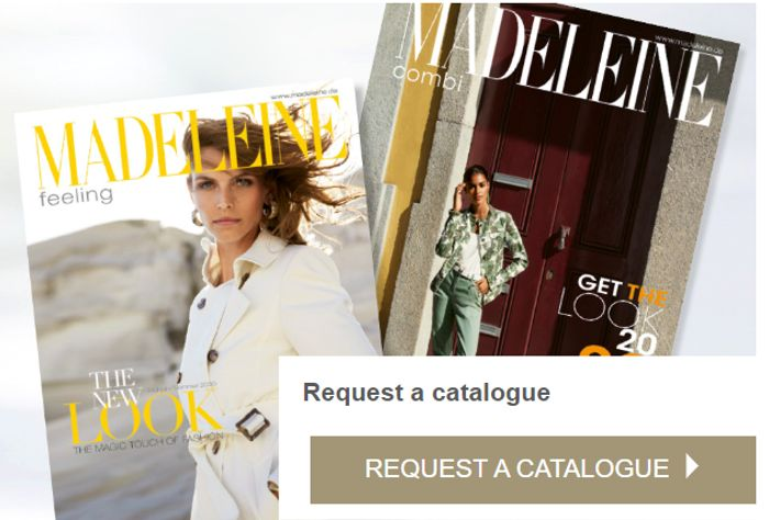 Get Your MADELEINE Fashion Catalogue FREE BY POST