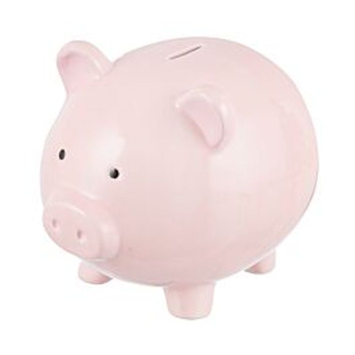 Large Piggy Bank Down From £29.99 to £7.99