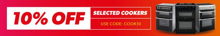 Extra 10% off Selected Cookers