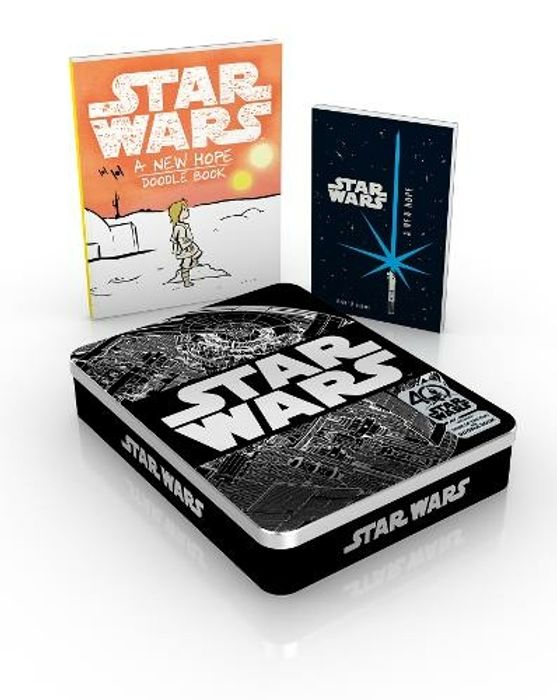 Best Price! Star Wars 40th Anniversary Tin Includes Book of the Film and Doodle