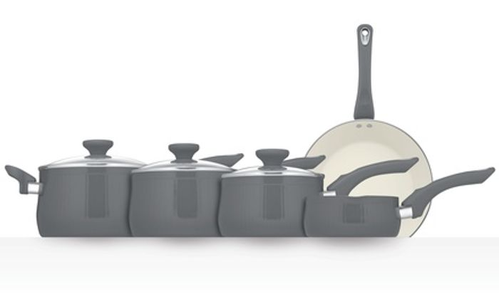 Prestige Insignia Aluminium Five-Piece Cookware Set with Free Delivery