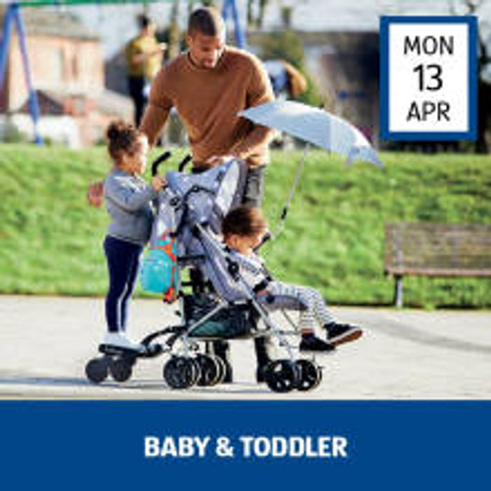 Baby and Toddler Event at Aldi