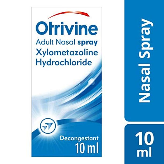 Otrivine Congestion Relief Nasal Spray Adult 10 Ml