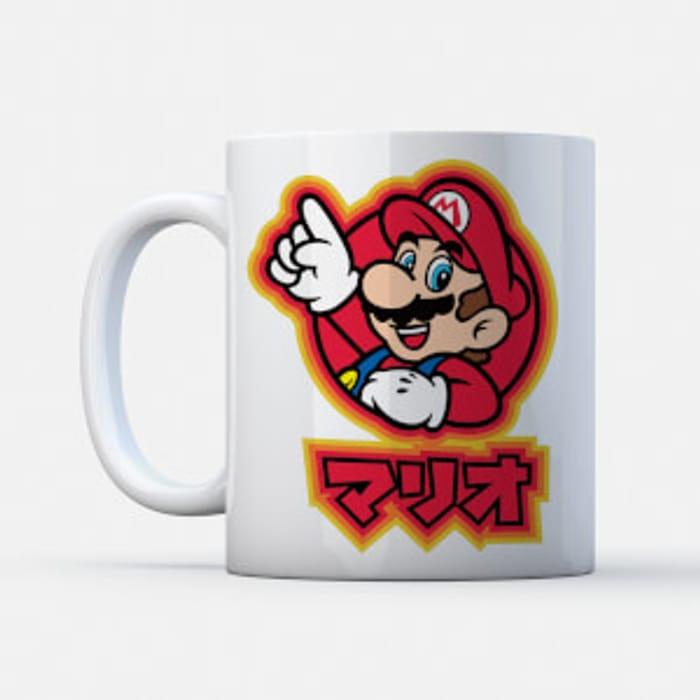 Nintendo Mug & T-Shirt Inc Mario & Zelda for Adults & Kids £8.99 Delivered