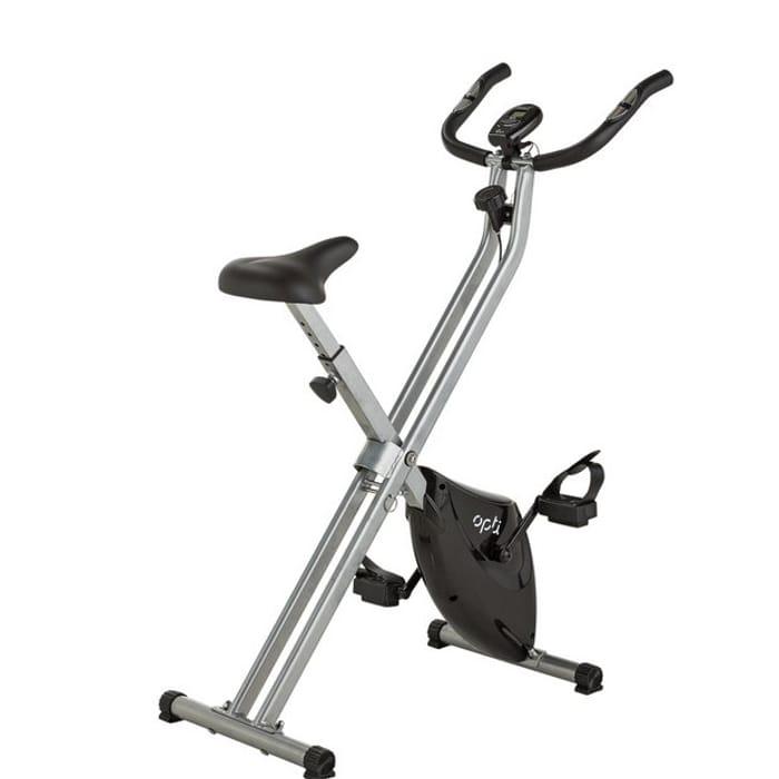 Opti Folding Magnetic Exercise Bike607/7051