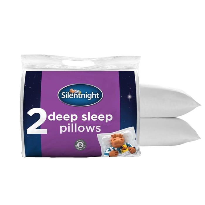 2 Silentnight Deep Sleep Pillows £11.99 Delivered