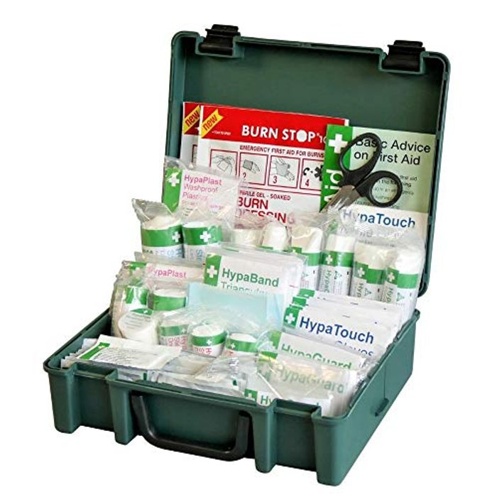 Safety First Aid Group Medium British Standard First Aid Kit Only £17.5