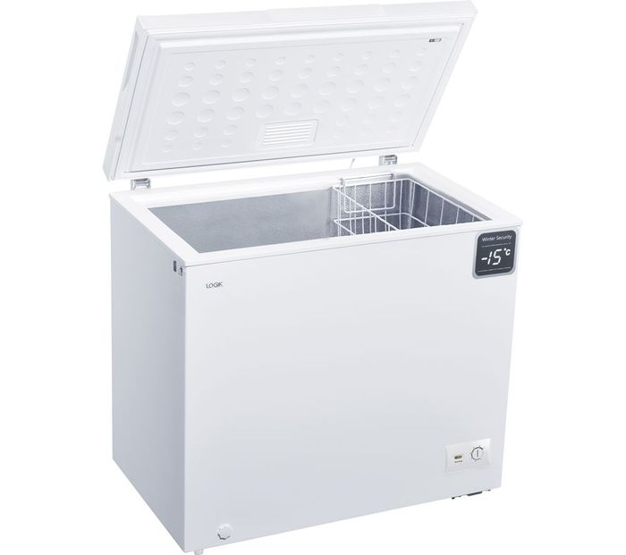 *SAVE £50* LOGIK Chest Freezer - White