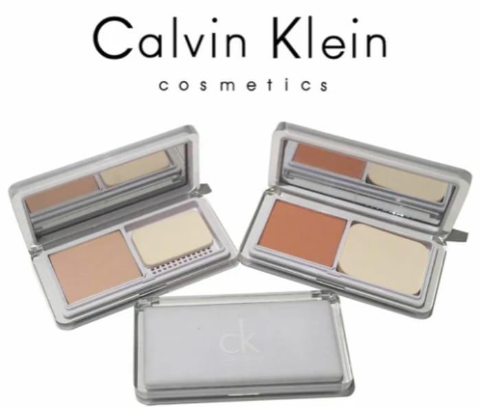 FREE CK Calvin Klein 2 Way Powder Foundation Palette