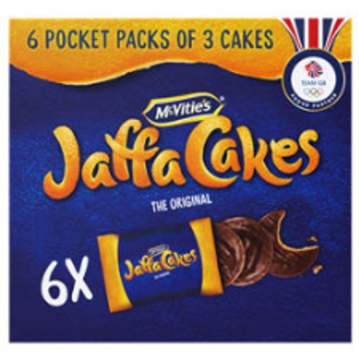 Cheap McVitie's the Original Pocket Pack Jaffa Cakes 6 Packs £1.69 @Asda