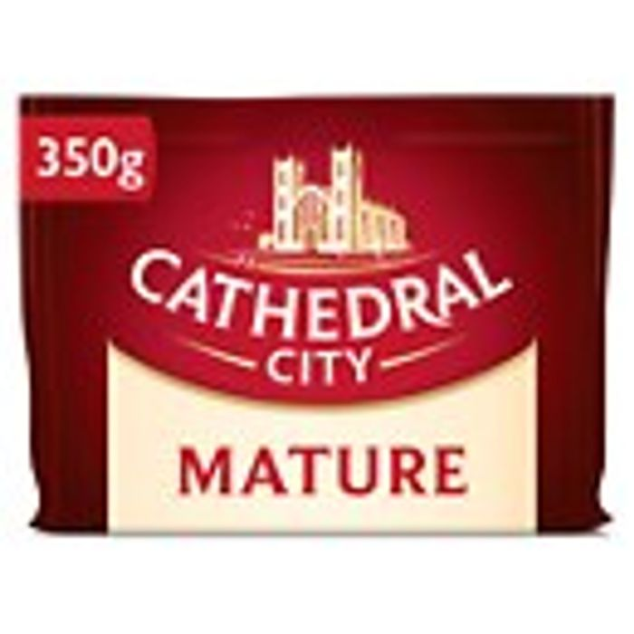 Cathedral City Mature / Extra Mature / Mild Cheddar 350g
