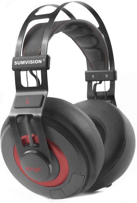 Sumvision Psyc Wave ZX Bluetooth Headphones Enhanced Bass Wireless Headphones