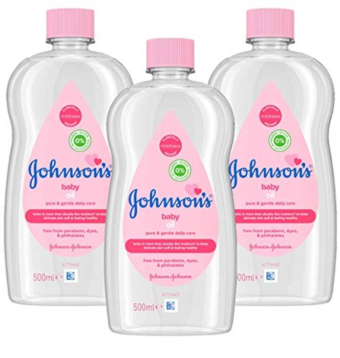 JOHNSON'S Baby Oil Multipack 3 X 500 Ml
