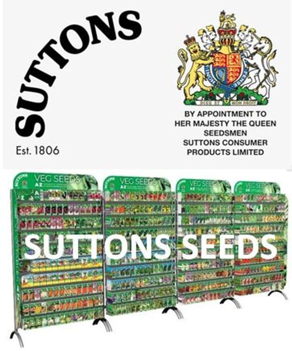 Special Offer - Suttons Seeds - Spring PLANT SALE, Vegetable Seeds, Plug plants