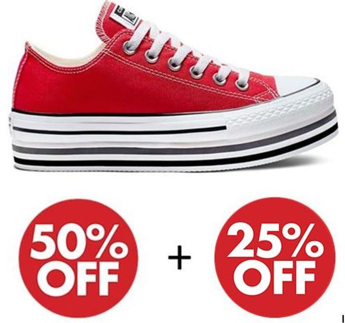 Converse Sale - 50% + EXTRA 25% off SALE