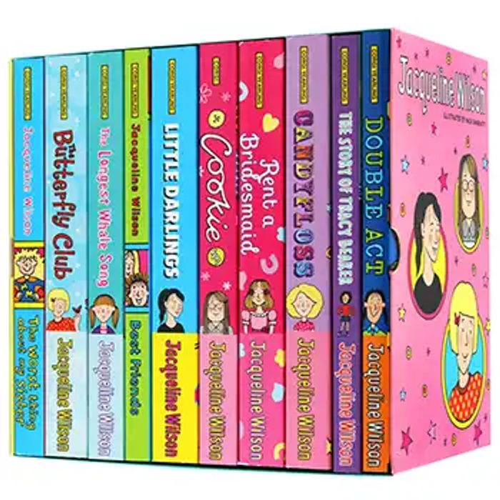 CHEAP! Jacqueline Wilson Collection - 10 Book Box Set
