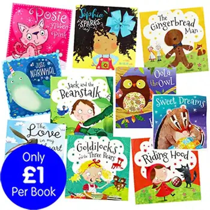 Slumber-Time Stories - 10 Kids Picture Books Bundle