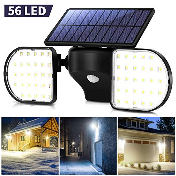 45% off Outdoor Solar Powered Lights