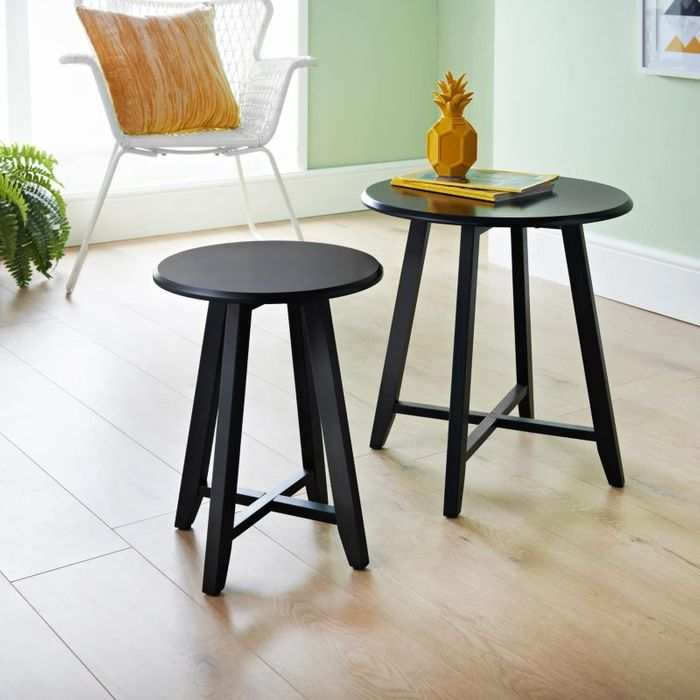 Larson Set of 2 Tables - Black Down From £20 to £15
