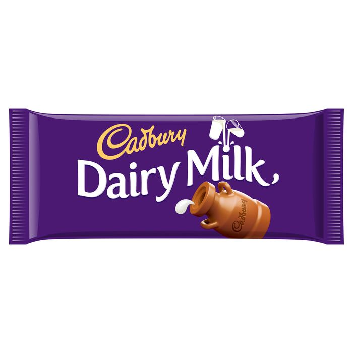 Cadbury Dairy Milk 110G Down From £1.5 to £1