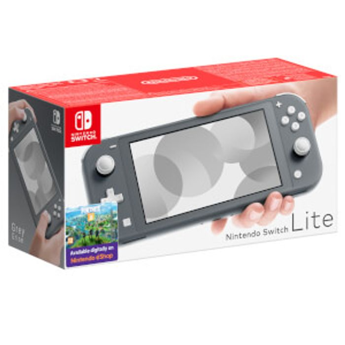Cheap Nintendo Switch Lite (Grey) Only £199.99