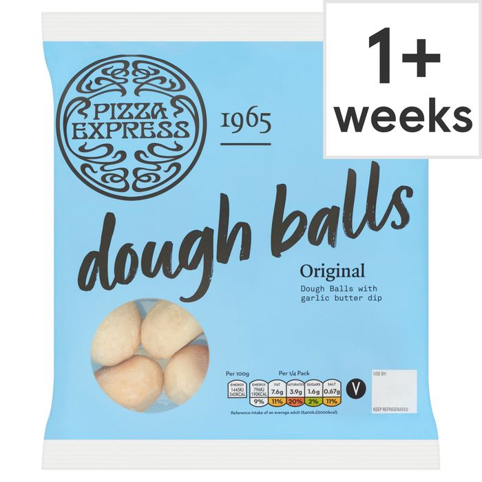Pizza Express Dough Balls 200G HALF PRICE