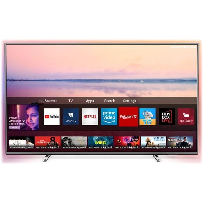 "*SAVE £100* Philips 43"" Smart Ambilight 4K Ultra HD TV"