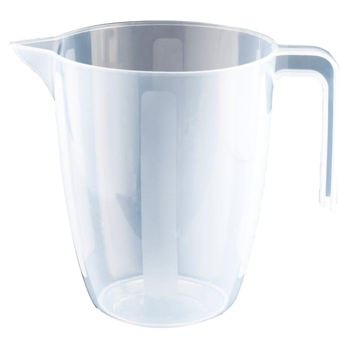 Tesco Basics Plastic Measuring Jug 1L *Dishwasher & Microwave Safe