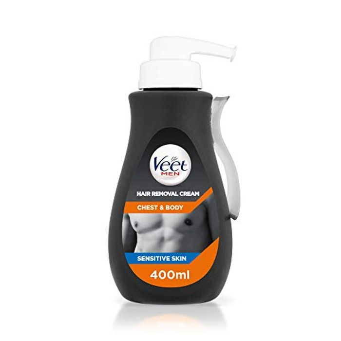 Veet Men Hair Removal Cream Chest Body 400ml 7 29 At Amazon