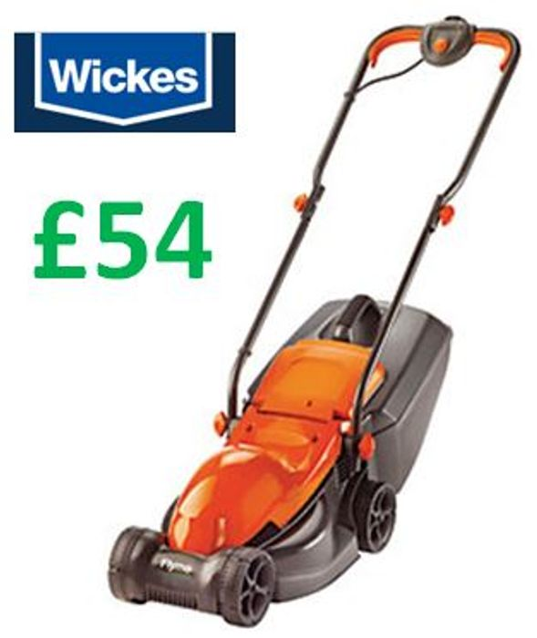Wickes - Flymo Speedi-Mo Lawn Mower (32cm cut) £54
