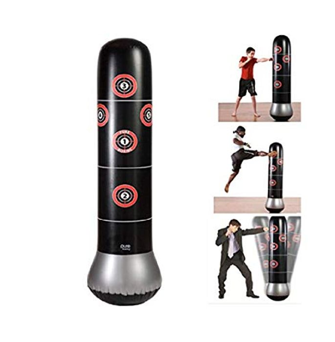 Kick Training Inflatable Boxing Punching Bag Sandbag