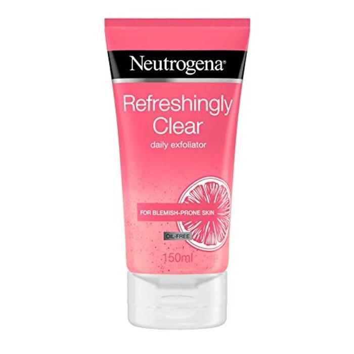 Neutrogena Refreshingly Clear Daily Exfoliator 150ml Only £3