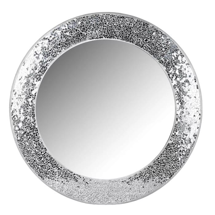 Cheap Wilko Silver Mosaic Mirror Only £8!