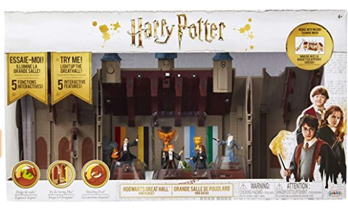 Cheap Harry Potter Hogwarts Great Hall Deluxe Playset - Only £22.99!