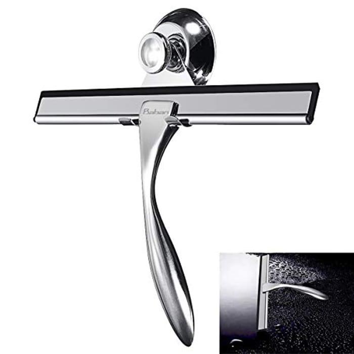 Best Price! Baban Shower Squeegee Stainless Steel Window