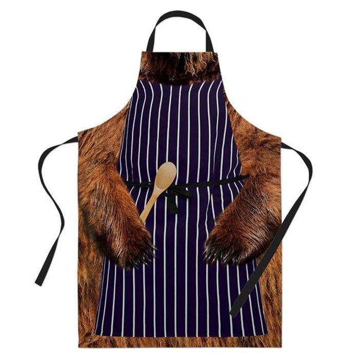 Cheap Funny Baking Apron Bear Outfit - Only £12.07!