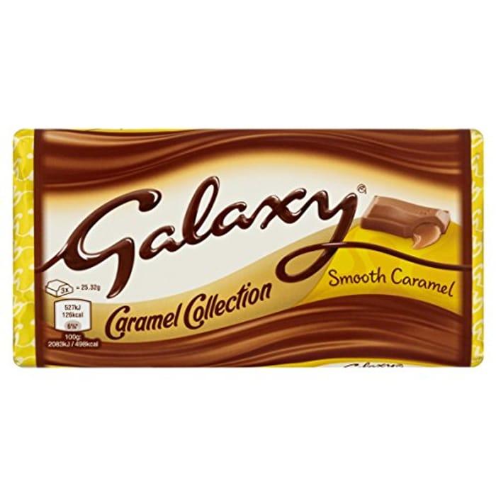 Galaxy Caramel Chocolate Block 135 G