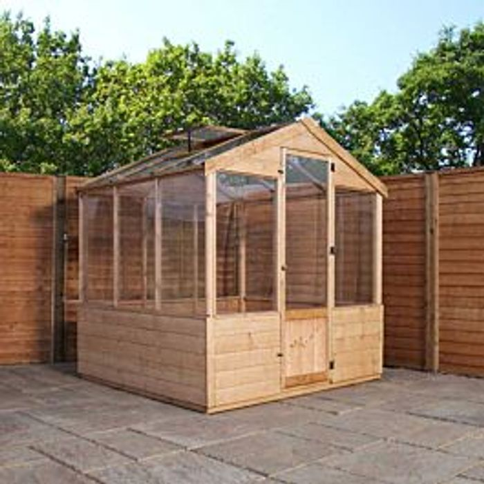 Mercia Traditional Greenhouse - 6 X 6ft