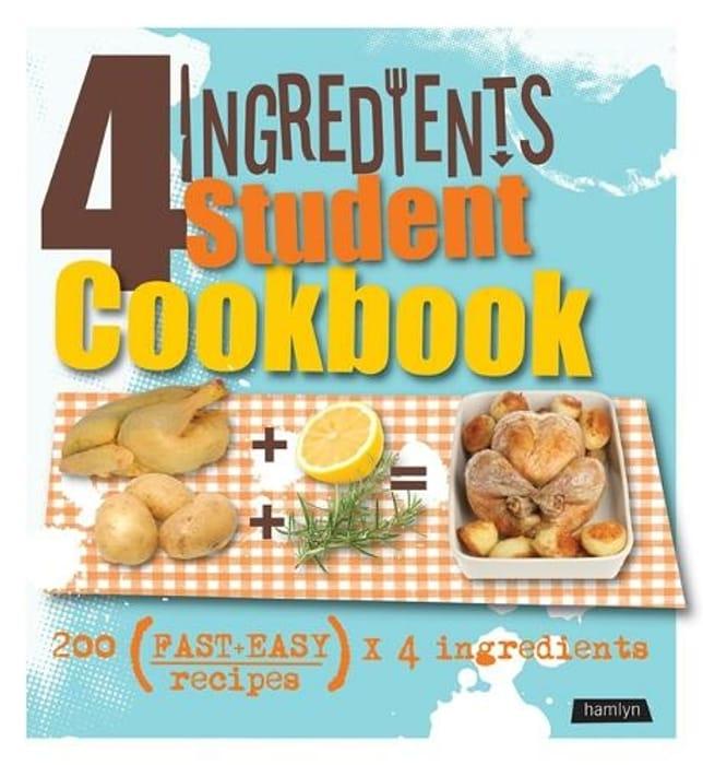 4 Ingredients Student Cookbook Digital Original