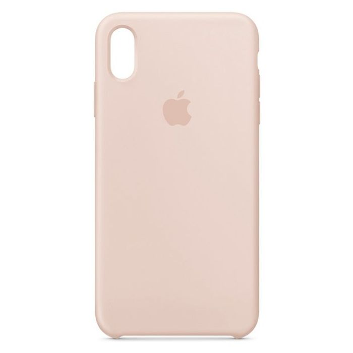 Apple iPhone Xs Max Silicone Phone Case - Pink Sand