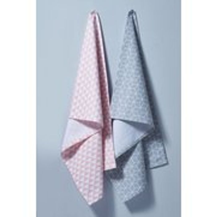 Set of 2 Geo Tea Towels Item Reference: 245-289-94MS