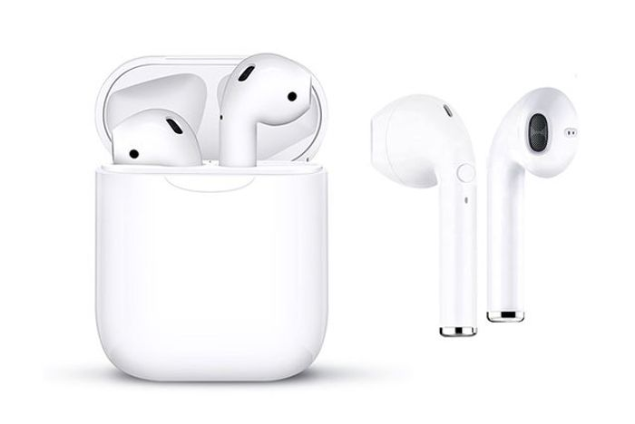 I10 Apple & Siri Compatible Wireless Earbuds & Charge Case