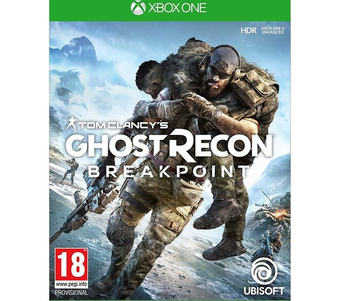 *SAVE £15* XBOX ONE Tom Clancy's Ghost Recon Breakpoint