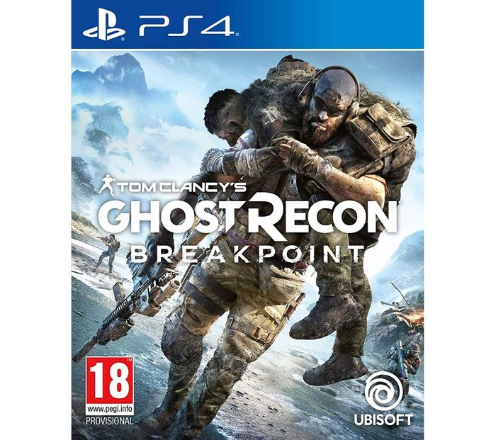*SAVE £15* PS4 Tom Clancy's Ghost Recon Breakpoint
