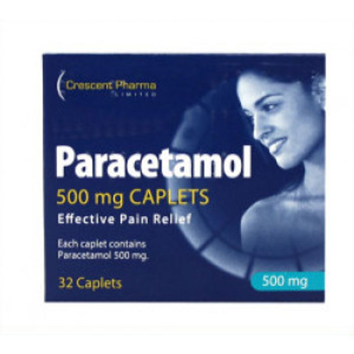Paracetamol 500mg 32 Tablets - Save £4.19